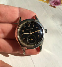 Vintage 1940s Jaeger-LeCoultre W.W.W.Military Watch no chronograph cal.479  WWW