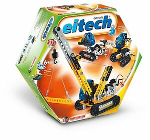 Eitech Beginner 3-Model Crawler Vehicles Construction Building Set Toy C334