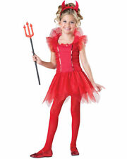 Dazzling Devil Girls Costume SIZE 10 NEW