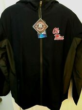 Ole Miss Rebels Mens Colosseum Athletics Archer Full Zip Hooded Jacket - XL & L