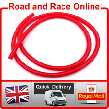 Motorcycle Fuel Line Petrol Pipe 5mm I/D x 8mm O/D 1m Length Red Fuel Hose
