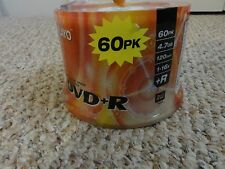 NEW 60 PACK OF DVD+R PROFESSIONAL GRADE RECORDABLE DVDs BY PLAYO