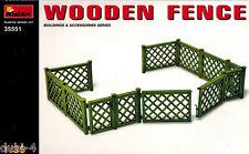 MiniArt 35551 Wooden Fence - Zaun Holzzaun - 1:35