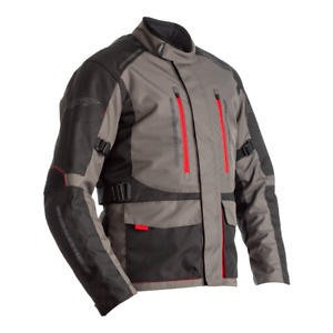 RST 2366 Atlas Ce Textile Veste Moto - Gris/Noir/Rouge