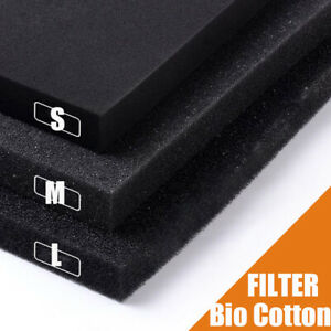 Practical S/M/L/XL Biochemical Cotton Filter Aquarium Fish Tank Pond Foam Sponge