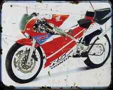 Honda Rc30 1 A4 métal signe Moto Vintage Aged