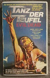 VHS Horror Video Tanz der Teufel Evil Dead VCL kleines Cover Erstauflage Top