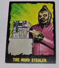 1964 OUTER LIMITS THE MIND STEALER #31 BUBBLES INC