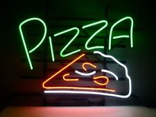 "New Pizza Shop Piece Neon Sign Beer Bar Pub Gift Light 20""x16"""