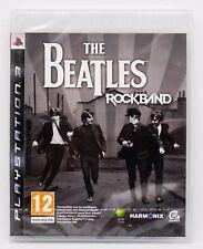 THE BEATLES ROCKBAND - PLAYSTATION 3 PS3 PLAY STATION PAL ESPAÑA NUEVO ROCK BAND
