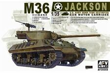 AFV Club AF35058 1/35 M36 Jackson U.S Army 90mm Tank Destroyer Gun Motor Carr