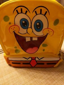 SpongeBob Kids' Dual Compartment Insulated Lunch Bag NWT