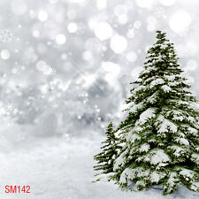 XMAS Snow Winter  Outdoor 10x10 FT CP  PHOTO SCENIC BACKGROUND BACKDROP Sm142