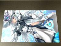 Yugioh TCG Playmat Yu-Gi-Oh Ghost Ogre /& Snow Rabbit CCG Card Game Play Mat Pad