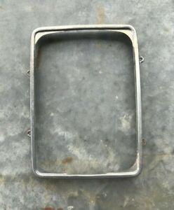 1979 FORD F100 F150 F250 Lariat XLT TRIM Headlight Square Chrome retaining ring