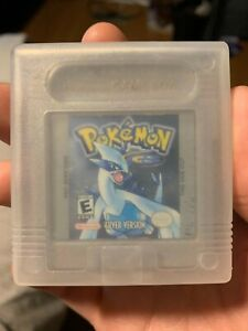 Authentic Original Pokemon Silver Version Game Only Nintendo Game Boy - Tested