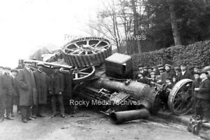 Bsd-2 Animated, Steamroller Accident, Unknown Location. Photo