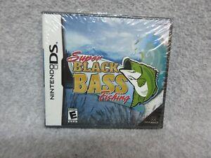 2004 Nintendo DS  SUPER BLACK BASS FISHING by MAJESCO MiNt UNOPENED SEALED