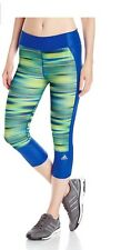 NWT Adidas Women's Supernova 3/4 Tight Pants Legging Bottom Size:XS Msrp:65$