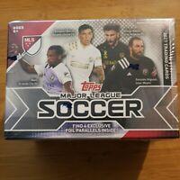 2021 Topps Major League Soccer MLS Factory Sealed Blaster Box W/ 4 FOIL CARDS🔥