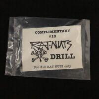 NOS Powell Peralta Vintage Rat Nuts Drill Bit - Dealer Swag - Still in Packaging