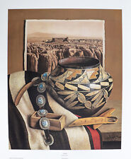 """""""Acoma """" by William Acheff 22x26"""" Signed Limited Edition 410/1000"""
