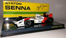 Minichamps F1 McLaren Honda MP4-4B Ayrton Senna 1/43 Test Car 1988 Marlboro