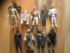 """VINTAGE THE EMPIRE STRIKES BACK 3"""" ACTION FIGURES. COMPLETE THIRD SET 1982."""