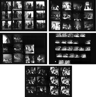 Jimi Hendrix concert at Star-Club 1967, 5 pages photo negative contact sheets