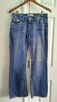 Aeropostale Hailey Skinny Flare Jeans 29/29 Junior's Size 5/6 Short Low Rise
