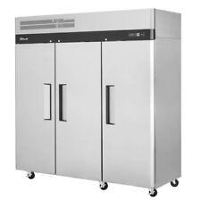Turbo Air M3F72-3-N Solid 3 Door Freezer (Replaces M3F72-3)