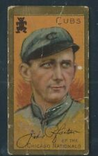 1911 T205 JOHN A. PFIESTER CHICAGO CUBS GOLD BORDER POOR/FAIR BASEBALL CARD