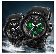 Reloj-Watch-Electronico-Analogico-Digital-LED-Quartz-Waterproof-50m-Para Hombre