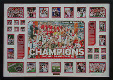 St George Dragons 2010 Champions Framed Limited Edition Large *Stock Clearance*
