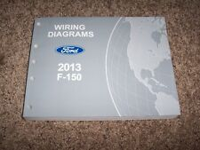2013 Ford F150 Electrical Wiring Diagram Manual FX2 Lariat XLT XL STX SVT Raptor