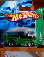 hot wheels 2007  treasure Hunt 1969 Chevrolet Camaro Z28 collector 123 (CP10)