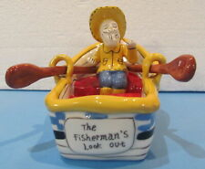 Fisherman's Look Out Rowboat Blue Sky Clayworks Heather Goldminc 2009