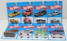 HOT WHEELS TARGET RETRO EXCLUSIVE 2016 BLUE SERIES COMPLETE 8 SET CHRISTMAS GIFT
