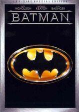 Batman DVD 1989 Michael Keaton Jack Nicholson 2 Disc Special Edition