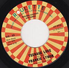 "FRANKIE LYMON & THE TEENAGERS - Teenage Love  7"" 45"