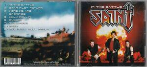 Saint - In The Battle CD 2004 ARMOR RECORDS AR-005