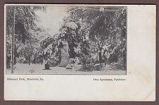 Diamond Park Meadville Pennsylvania c1910 Postcard