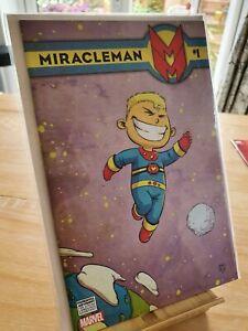 Miracleman # 1 Variant Scottie young  Marvel comics 1st print Alan Moore