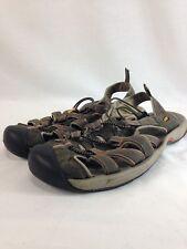 e1341029f25 Keen Newport Sport Sandals Shoes Mens 11 Brown Hiking Trail Slip On  Drawstring