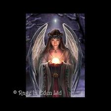 *YULETIDE ANGEL* Anne Stokes Fantasy Art Blank Christmas Card (AN12)
