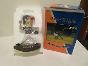 David Wright Binghamton Mets Rock n' Magic Bobblehead  in Original Box