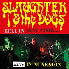 Slaughter & the Dogs - Hell in New York: Live in Nuneaton (2018)  CD+DVD  NEW