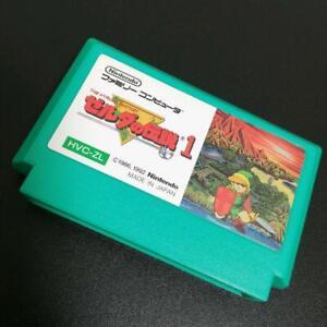 Nintendo Famicom The Legend of Zelda 1 FC Cartridge only Japan Import Game