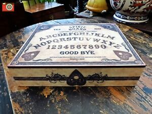 OUIJA SPIRIT BOARD JEWELLERY TRINKET BOX. Vintage Style. Gothic Occult Mystic.