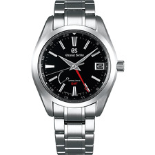 NEW! GRAND SEIKO Spring Drive GMT SBGE211 Steel Watch